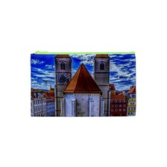 Steeple Church Building Sky Great Cosmetic Bag (xs) by Nexatart