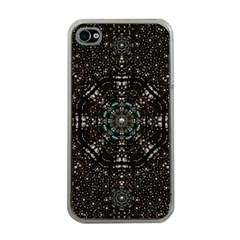 Pearl Stars On A Wonderful Sky Of Star Constellations Apple Iphone 4 Case (clear) by pepitasart