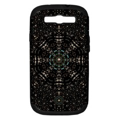 Pearl Stars On A Wonderful Sky Of Star Constellations Samsung Galaxy S Iii Hardshell Case (pc+silicone) by pepitasart
