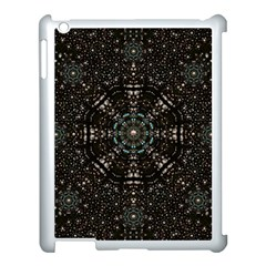 Pearl Stars On A Wonderful Sky Of Star Constellations Apple Ipad 3/4 Case (white) by pepitasart