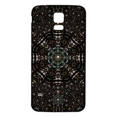 Pearl Stars On A Wonderful Sky Of Star Constellations Samsung Galaxy S5 Back Case (white) by pepitasart