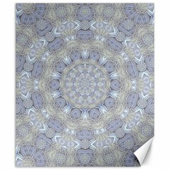 Flower Lace In Decorative Style Canvas 20  X 24   by pepitasart