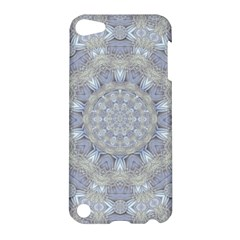 Flower Lace In Decorative Style Apple Ipod Touch 5 Hardshell Case by pepitasart