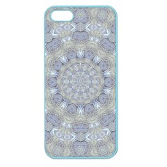Flower Lace In Decorative Style Apple Seamless Iphone 5 Case (color) by pepitasart