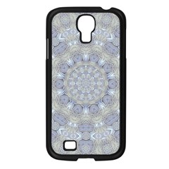 Flower Lace In Decorative Style Samsung Galaxy S4 I9500/ I9505 Case (black) by pepitasart