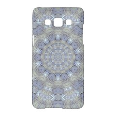 Flower Lace In Decorative Style Samsung Galaxy A5 Hardshell Case  by pepitasart