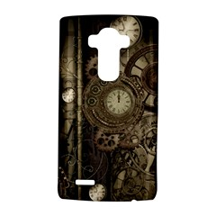 Stemapunk Design With Clocks And Gears Lg G4 Hardshell Case by FantasyWorld7