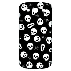Skull, Spider And Chest    Halloween Pattern Samsung Galaxy S3 S Iii Classic Hardshell Back Case by Valentinaart