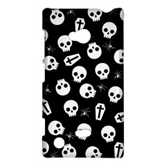 Skull, Spider And Chest    Halloween Pattern Nokia Lumia 720 by Valentinaart