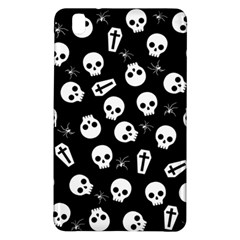 Skull, Spider And Chest    Halloween Pattern Samsung Galaxy Tab Pro 8 4 Hardshell Case by Valentinaart