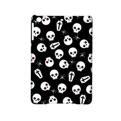 Skull, Spider And Chest    Halloween Pattern Ipad Mini 2 Hardshell Cases by Valentinaart