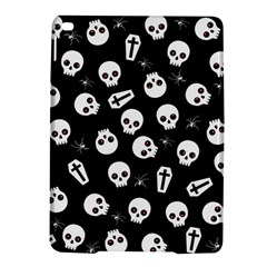 Skull, Spider And Chest    Halloween Pattern Ipad Air 2 Hardshell Cases by Valentinaart