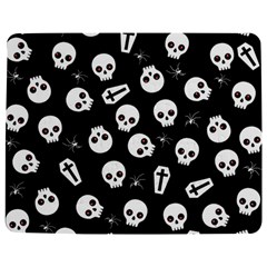 Skull, Spider And Chest    Halloween Pattern Jigsaw Puzzle Photo Stand (rectangular) by Valentinaart