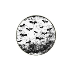 Vintage Halloween Bat Pattern Hat Clip Ball Marker by Valentinaart