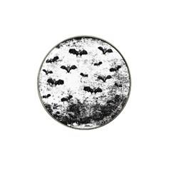 Vintage Halloween Bat Pattern Hat Clip Ball Marker (4 Pack) by Valentinaart