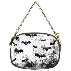Vintage Halloween Bat Pattern Chain Purses (two Sides)  by Valentinaart