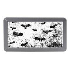 Vintage Halloween Bat Pattern Memory Card Reader (mini) by Valentinaart