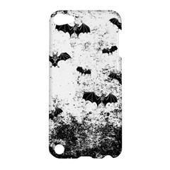 Vintage Halloween Bat Pattern Apple Ipod Touch 5 Hardshell Case by Valentinaart