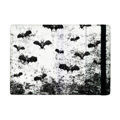 Vintage Halloween Bat Pattern Ipad Mini 2 Flip Cases by Valentinaart