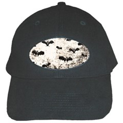 Vintage Halloween Bat Pattern Black Cap by Valentinaart
