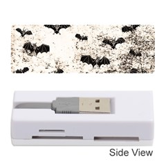Vintage Halloween Bat Pattern Memory Card Reader (stick)  by Valentinaart