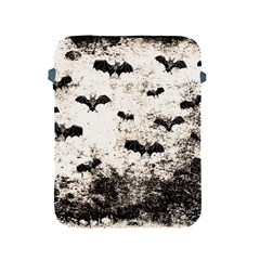 Vintage Halloween Bat Pattern Apple Ipad 2/3/4 Protective Soft Cases by Valentinaart