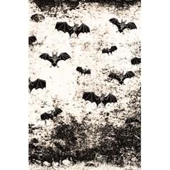Vintage Halloween Bat Pattern 5 5  X 8 5  Notebooks by Valentinaart
