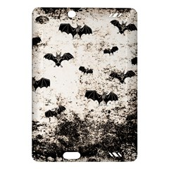 Vintage Halloween Bat Pattern Amazon Kindle Fire Hd (2013) Hardshell Case by Valentinaart