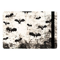 Vintage Halloween Bat Pattern Apple Ipad Pro 10 5   Flip Case by Valentinaart
