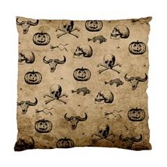 Vintage Halloween Pattern Standard Cushion Case (one Side) by Valentinaart