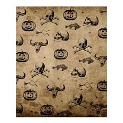Vintage Halloween Pattern Shower Curtain 60  X 72  (medium)  by Valentinaart