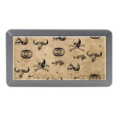 Vintage Halloween Pattern Memory Card Reader (mini) by Valentinaart