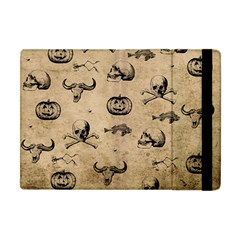 Vintage Halloween Pattern Apple Ipad Mini Flip Case by Valentinaart