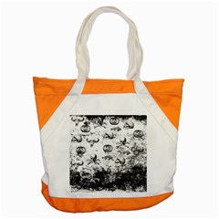 Vintage Halloween Pattern Accent Tote Bag by Valentinaart