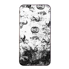 Vintage Halloween Pattern Apple Iphone 4/4s Seamless Case (black) by Valentinaart