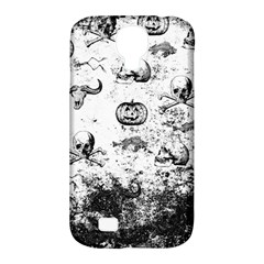 Vintage Halloween Pattern Samsung Galaxy S4 Classic Hardshell Case (pc+silicone) by Valentinaart