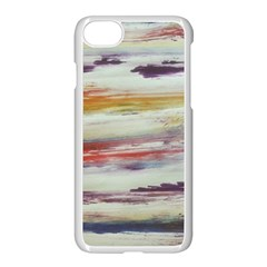 Imagesart Li Photo 27 06 2017, 8 10 22 Am Cara Azul Apple Iphone 7 Seamless Case (white) by MaryIllustrations