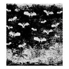 Vintage Halloween Bat Pattern Shower Curtain 66  X 72  (large)  by Valentinaart