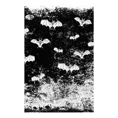 Vintage Halloween Bat Pattern Shower Curtain 48  X 72  (small)  by Valentinaart