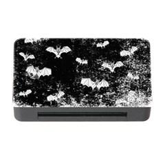 Vintage Halloween Bat Pattern Memory Card Reader With Cf by Valentinaart
