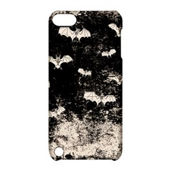 Vintage Halloween Bat Pattern Apple Ipod Touch 5 Hardshell Case With Stand by Valentinaart