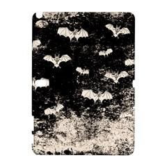 Vintage Halloween Bat Pattern Galaxy Note 1 by Valentinaart