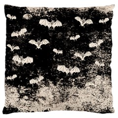 Vintage Halloween Bat Pattern Standard Flano Cushion Case (two Sides) by Valentinaart