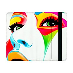 Colourful Art Face Samsung Galaxy Tab Pro 8 4  Flip Case