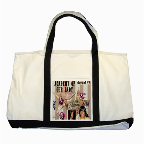 By Jpcool79   Two Tone Tote Bag   J6jz7xhkuuw8   Www Artscow Com Front