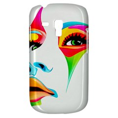 Colourful Art Face Galaxy S3 Mini by MaryIllustrations
