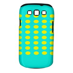 Green And Yellow Samsung Galaxy S Iii Classic Hardshell Case (pc+silicone) by NSTP