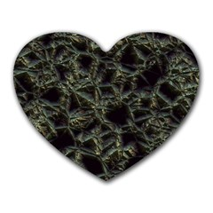 Jagged Stone 2d Heart Mousepads by MoreColorsinLife