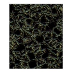 Jagged Stone 2d Shower Curtain 60  X 72  (medium)  by MoreColorsinLife