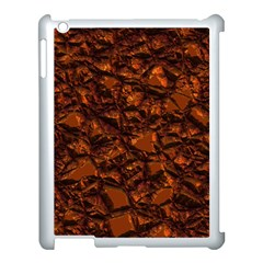 Jagged Stone 2b Apple Ipad 3/4 Case (white) by MoreColorsinLife
